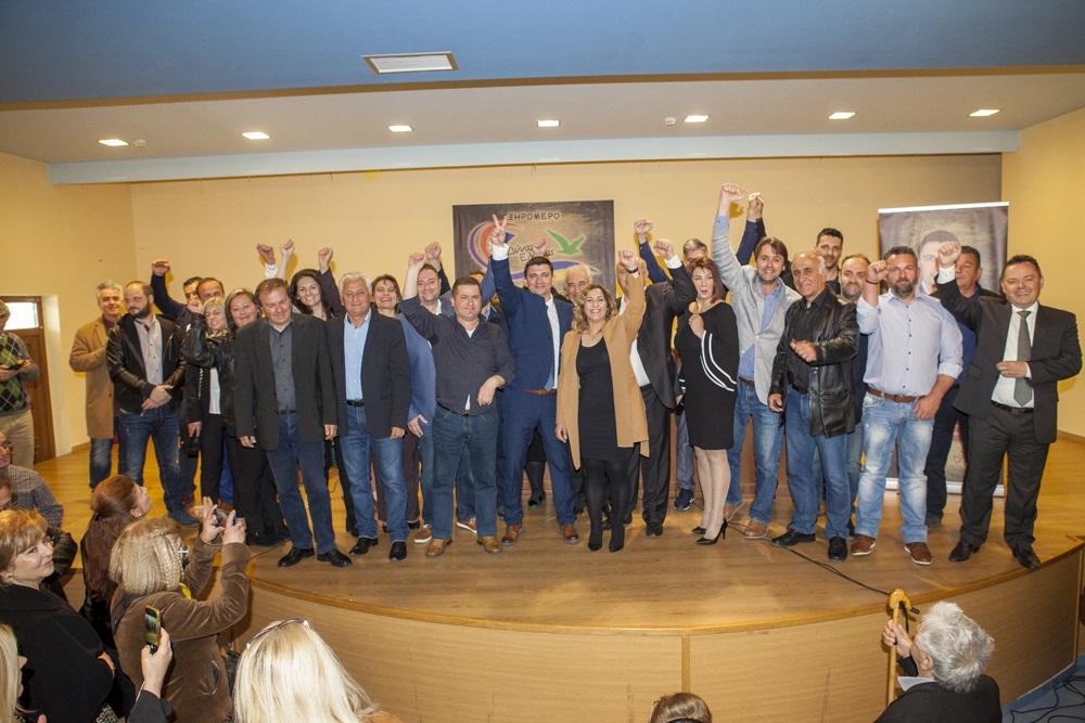 Δήμος Ξηρομέρου: Κοσμοσυρροή στην παρουσίαση των υποψηφίων του συνδυασμού του Γιάννη Τριανταφυλλάκη