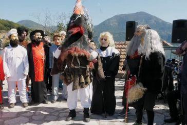 Ξεχωριστό καρναβάλι στον Τριπόταμο Ευρυτανίας (video)