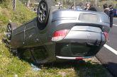 Άγιο είχε οδηγός οχήματος που ανατράπηκε κοντά στη Γέφυρα Αχελώου