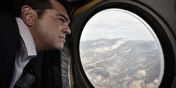 Τούρκοι παρενόχλησαν το ελικόπτερο με τον Αλέξη Τσίπρα