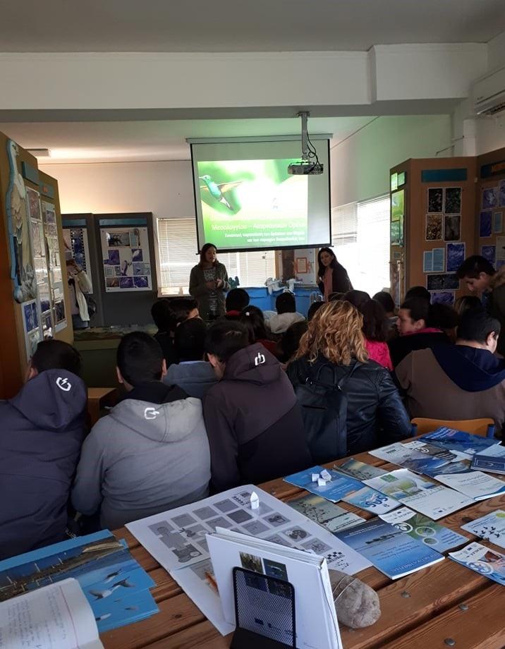 Επίσκεψη του Ενιαίου Ειδικού Επαγγελματικού Γυμνασίου – Λυκείου Αγρινίου στο Φορέα Διαχείρισης Λιμνοθάλασσας Μεσολογγίου