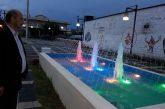 Ο αντιδήμαρχος καμαρώνει το νέο σιντριβάνι στο Καινούργιο…