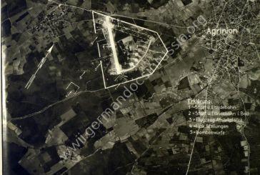 Γερμανική στρατιωτική φωτογραφία του αεροδρομίου Αγρινίου