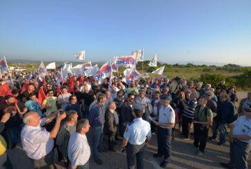 Πρόσκληση Επιτροπών Ειρήνης και Εργατικών Κέντρων  για συγκέντρωση – πορεία στην στρατιωτική βάση του Ακτίου