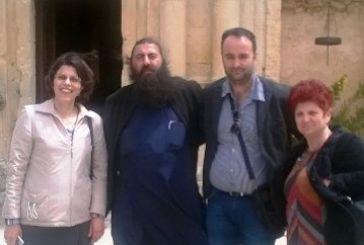 Ιερά Μονή Αρκαδίου Κρήτης: Το  σύμβολο της Κρητικής Επανάστασης με στυλοβάτες δύο Αγρινιώτες