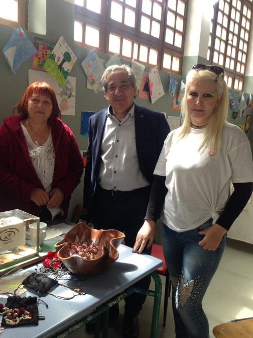 Στο bazaar της Φιλοζωικής Αγρινίου ο υποψήφιος Δήμαρχος Αγρινίου  Σταύρος Καμμένος