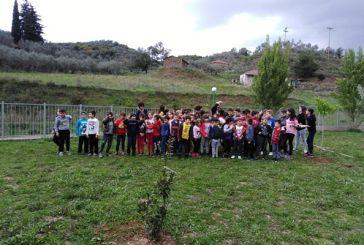 Αγρίνιο: Δενδροφύτευση από μαθητές του 19ου Δημοτικού Σχολείου Αγρινίου (φωτο)