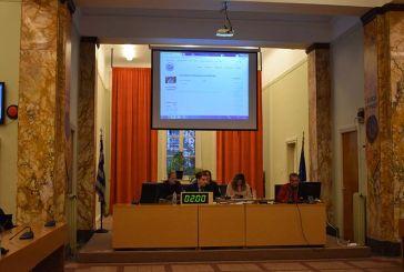 Η ψηφιοποίηση αποφάσεων και ονοματοδοσιών δρόμων σε συνεδρίαση του δημοτικού συμβουλίου Αγρινίου