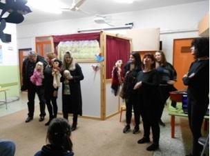 Ευχαριστίες από το 1ο Ειδικό Νηπιαγωγείο -Δημοτικό στο «Δίκτυο Στήριξης μαθητών Αγρινίου» για το κουκλοθέατρο