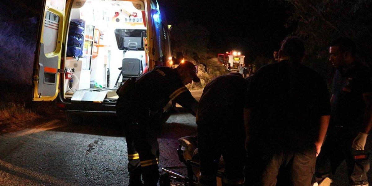Τραυματίες σε σοβαρό τροχαίο στη Μακρυνεία