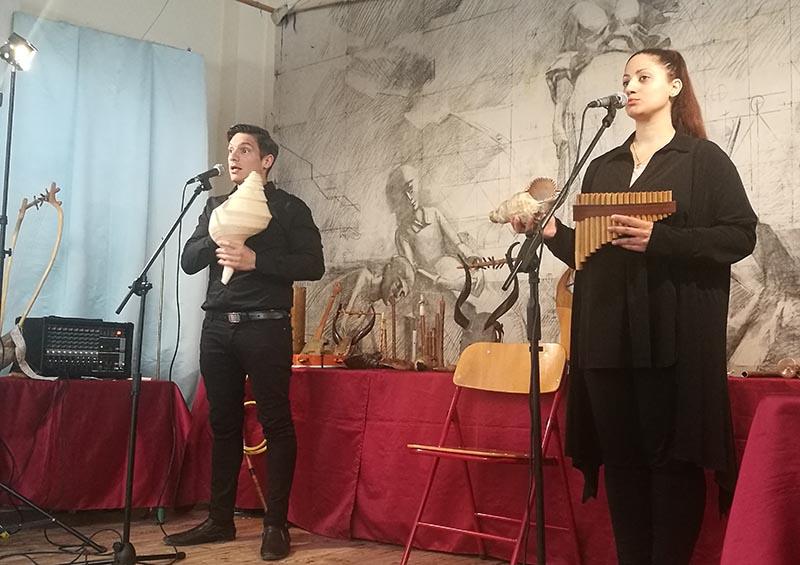 Η αρμονία και ο ρυθμός της αρχαίας ελληνικής μουσικής στο 8o δημοτικό σχολείο Αγρινίου!