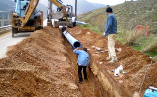 Έργα στο δίκτυο ύδρευσης Κατούνας-Κωνωπίνας