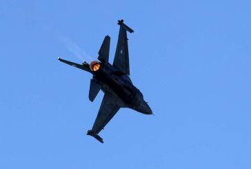 Εορτές Εξόδου 2019 : Εντυπωσιακή επίδειξη  F16  στον ουρανό του Μεσολογγίου