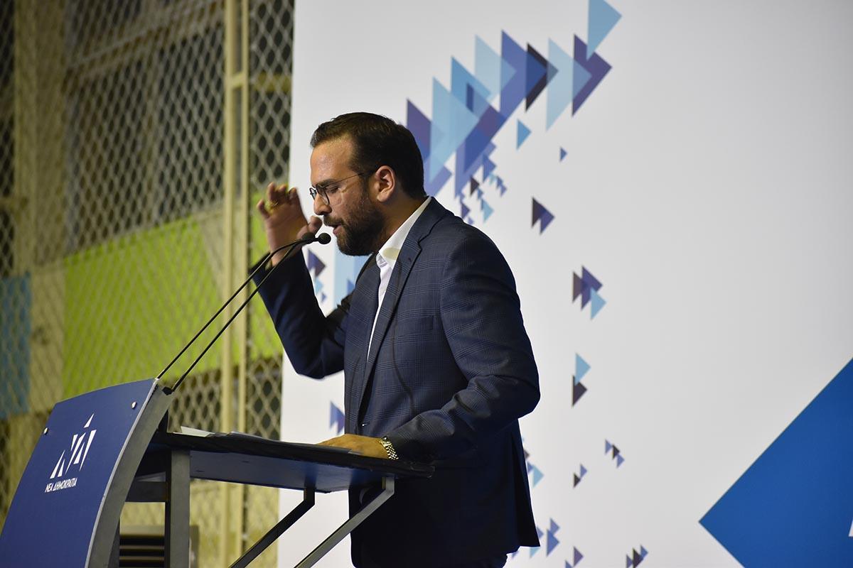 Ν. Φαρμάκης στην ομιλία Μητσοτάκη στο Αγρίνιο: «Θα βάλουμε τέλος στα πέτρινα χρόνια της Δυτικής Ελλάδας!»