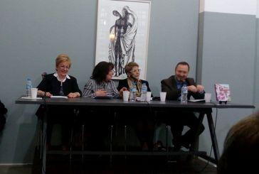 «Μόνο στιγμές»: παρουσιάστηκε και στο Αγρίνιο το βιβλίο της Ευδοκίας Φελώνη