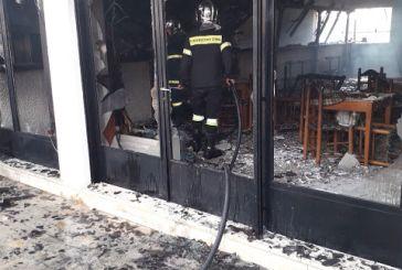 Κάηκε ολοσχερώς ταβέρνα στο Αρχοντοχώρι Ξηρομέρου