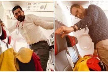 Έλληνες καρδιολόγοι έσωσαν από βέβαιο θάνατο επιβάτιδα αεροπλάνου