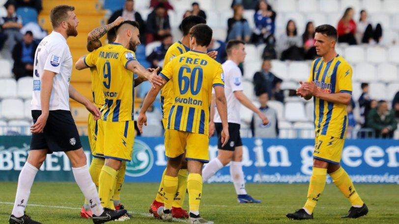 Απόλλων Σμύρνης – Παναιτωλικός 0-1: Επέστρεψε στις νίκες με Μπαϊροβιτς και Ντουάρτε!