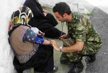 Οπλίτης-ιατρός στο Περιφερειακό Ιατρείο Περδικακίου
