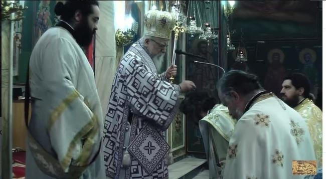 Χειροτονία πρεσβυτέρου στον ιερό ναό Αγίου Νικολάου Στράτου (βίντεο)