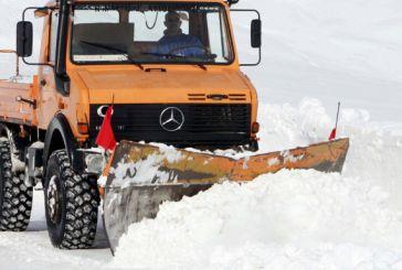 O καιρός «τρελάθηκε»: Πρώτη φορά χιόνια τον Απρίλιο στο Καϊμακτσαλάν!