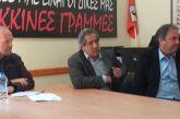 Συναντήσεις Σταύρου Καμμένου με το  Σύλλογο Εργαζομένων ΟΤΑ και το Σωματείο καθαριστών-στριών