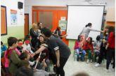 Επίσκεψη  αλληλεγγύης του 5ου Γυμνασίου Αγρινίου  στο 1ο Ειδικό  Δημοτικό και 1ο Ειδικό Νηπιαγωγείο Αγρινίου