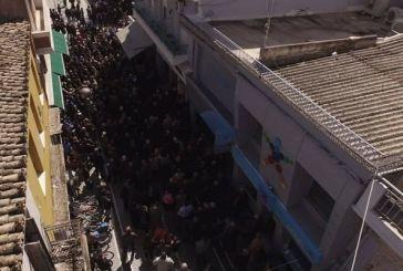 Eγκαινίασε το εκλογικό του κέντρο στο Μεσολόγγι ο Καραπάνος