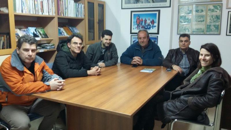 Οι ανεμογεννήτριες στη συνάντηση της Λαϊκής Συσπείρωσης Αγρινίου με τον Ορειβατικό Σύλλογο