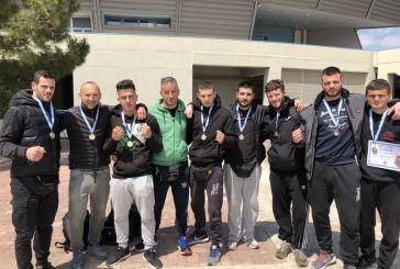 Έξι χρυσά και ένα χάλκινο στο Πανελλήνιο Πρωτάθλημα Παγκρατίου για τον Ηρακλή Αγρινίου (φωτο)