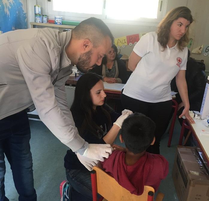 Εξετάστηκαν και εμβολιάστηκαν 36 παιδιά ρομά στο Μεσολόγγι