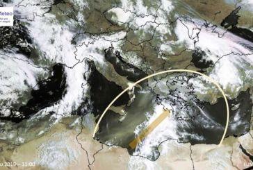 Καιρός: Η αφρικανική σκόνη σήμερα πάνω από την Ελλάδα