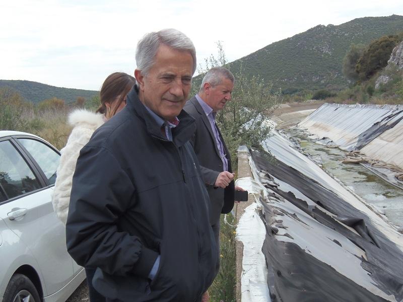Σπηλιόπουλος στην Παραχελωίτιδα: «Στην τύχη τους τα αρδευτικά έργα στην Αιτωλοακαρνανία» (video)