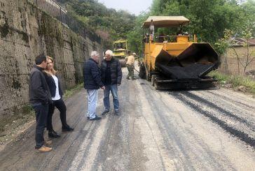 Η Χρ. Σταρακά στα έργα αποκατάστασης του οδικού δικτύου Άγιος Ανδρέας – Λιθοβούνι – Μεσάριστα