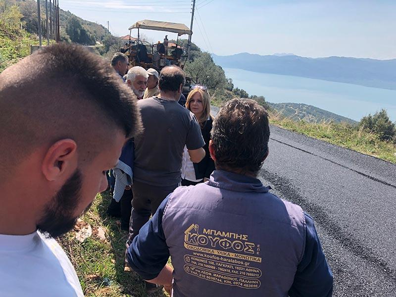 Η Σταρακά σε έργα στο οδικό δίκτυο της ορεινής Τριχωνίδας