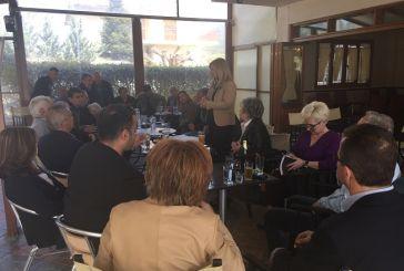Χριστίνα Σταρακά σε Παναιτωλικό και Παρακαμπύλια: «Να δώσουμε προοπτική στους ορεινούς όγκους του δήμου Αγρινίου»