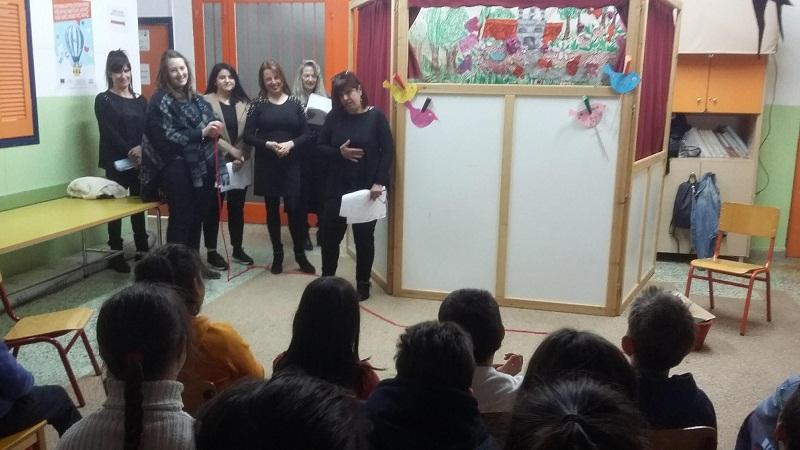 Κουκλοθεάτρο «ο Φαντασμένος» σε σχολεία του Αγρινίου από το Δίκτυο Στήριξης Μαθητών