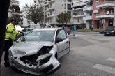 Σφοδρό τρακάρισμα στη διασταύρωση Σκόπα και Φιλελλήνων στο Αγρίνιο
