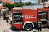 Φωτιά σε σπίτι στη Ναύπακτο (video)