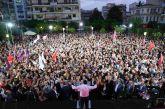 Eυχαριστίες ΣΥΡΙΖΑ: «ήταν η μεγαλύτερη συγκέντρωση που έγινε στον Νομό από τη δεκαετία του 80' και μετά»