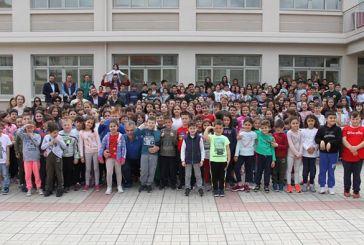 Δίπλα στους μαθητές του 2ου Δημοτικού Σχολείου ο ΑΟ Αγρινίου (φωτο)