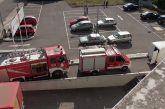 Φωτιά σε σούπερ μάρκετ του Αγρινίου  για… τις ανάγκες άσκησης της Πυροσβεστικής