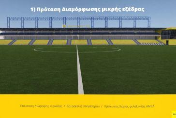 Έτσι θα γίνει «κουκλί» το γήπεδο του Παναιτωλικού (εικόνες)