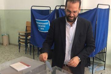 Στο Αγρίνιο θα ψηφίσει ο Νεκτάριος Φαρμάκης το πρωί της Κυριακής