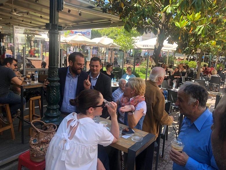 Νεκτάριος Φαρμάκης: «Με την κοινωνία συμμέτοχο στις αποφάσεις…»