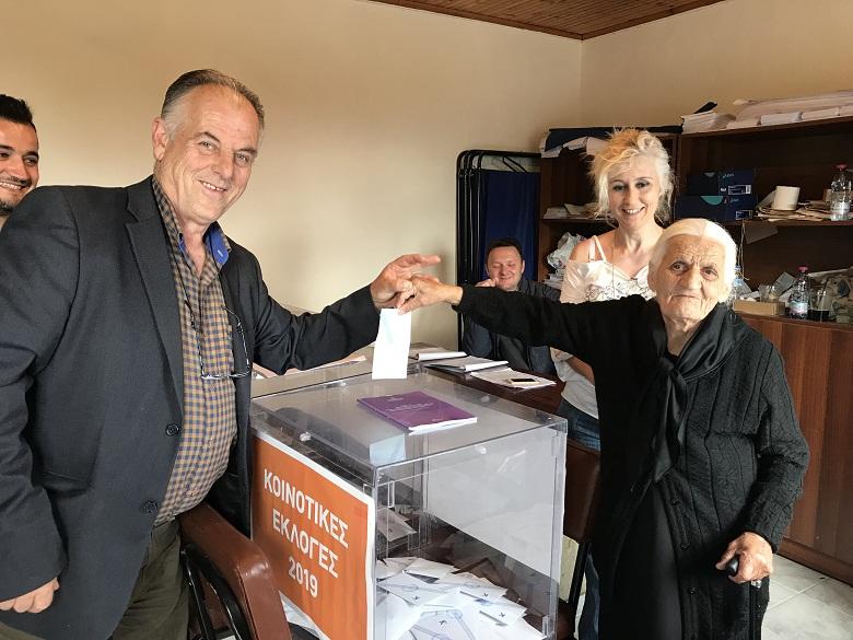 Η 100χρονη της Καστανούλας που νοιάζεται για το μέλλον του τόπου της