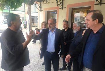 Σε Αιτωλικό και Αστακό ο Απ. Κατσιφάρας: «Προτεραιότητα σε υποδομές που βελτιώνουντην ποιότητα ζωής»