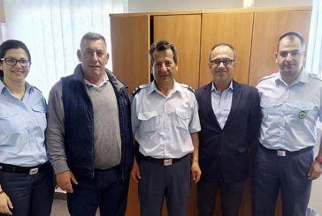 Kλιμάκιο του ΚΚΕ στο Αστυνομικό Τμήμα και τον Πυροσβεστικό Σταθμό Αμφιλοχίας