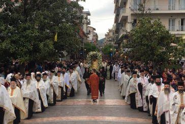 Λαμπρός και πάνδημος ο εορτασμός του πολιούχου του Αγρινίου, Αγίου Χριστοφόρου