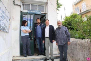 Στην Αστυνομική Διεύθυνση Αιτωλίας ο Σπήλιος Λιβανός: «Η ασφάλεια προϋπόθεσηγια την ελευθερία»